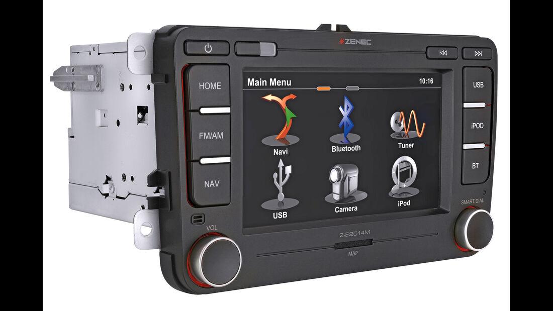 Navigationsradio einbauen, Zenec, Z-E 20 14M