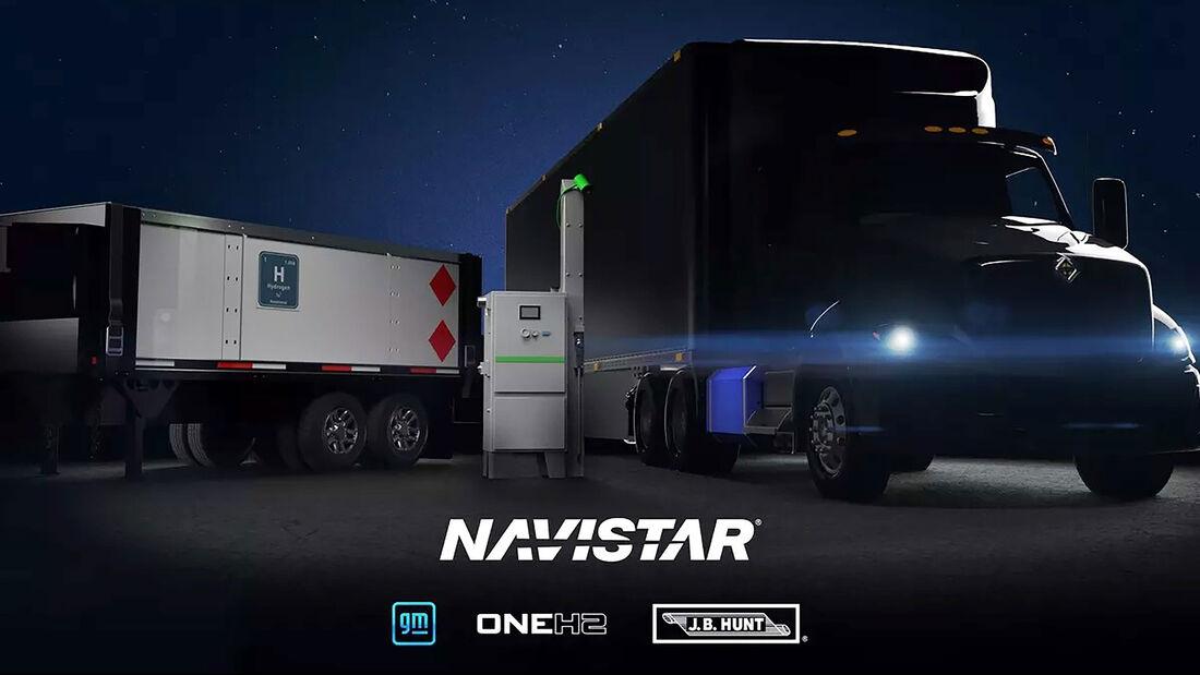 Navistar Wasserstoff Lkw