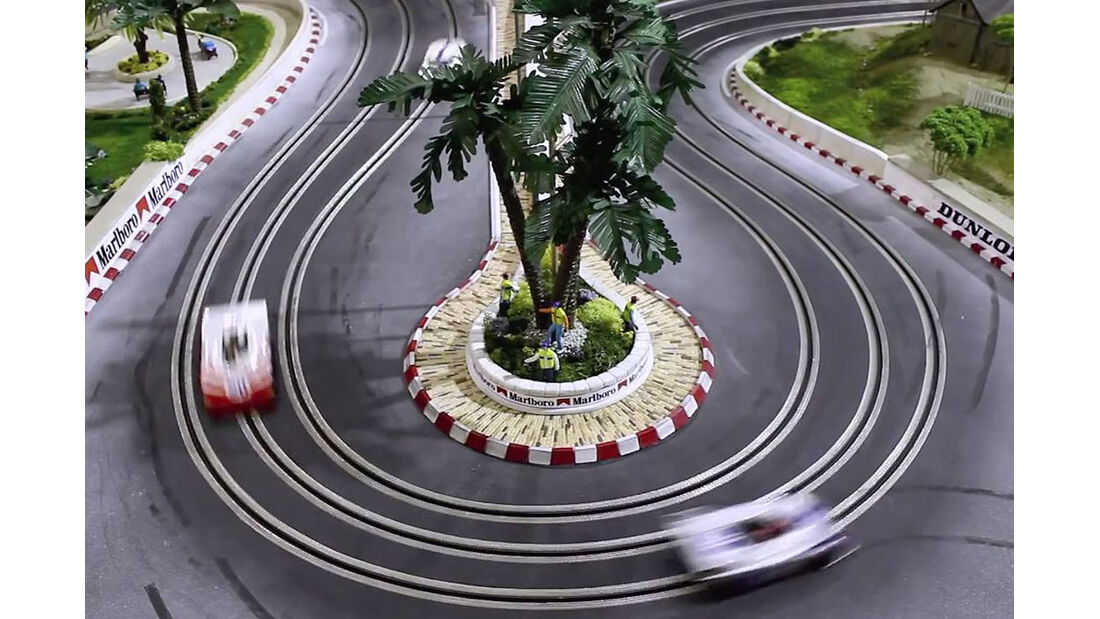 Neiman Marcus Slotcar Weihnachtsgeschenk Modellautorennbahn