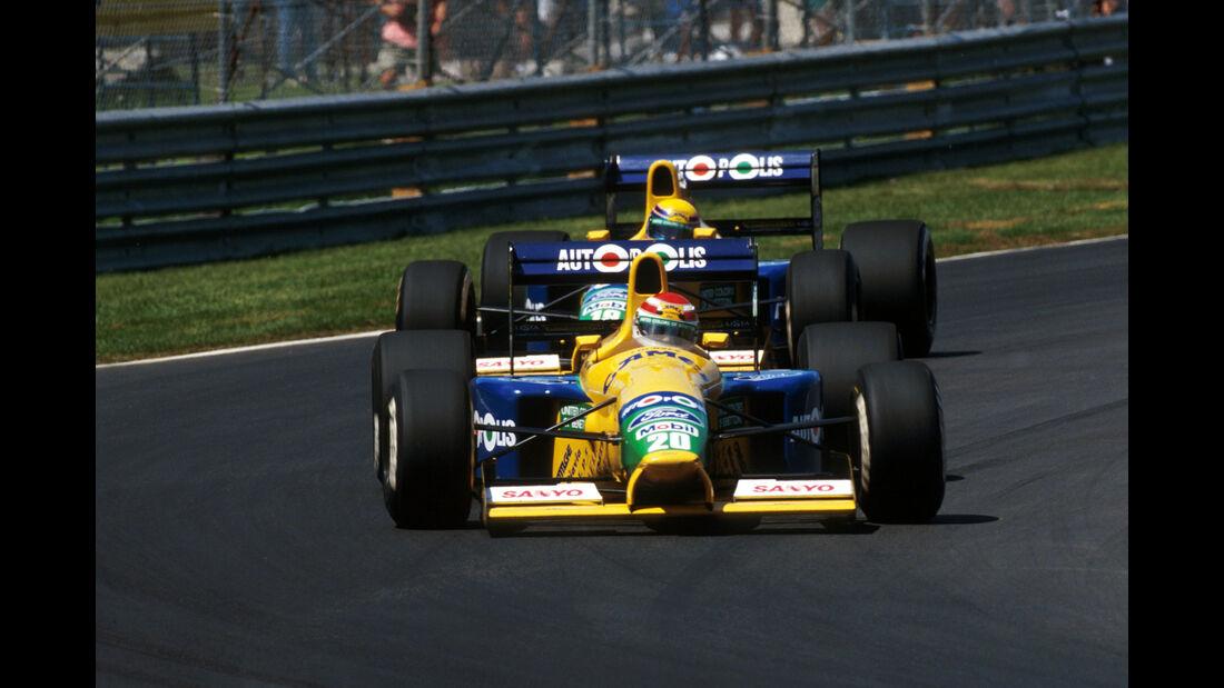 Nelson Piquet - Benetton B191 - GP Kanada 1991 - Montreal