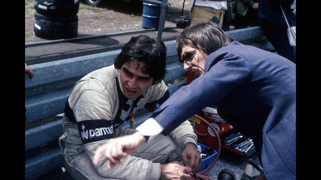 Nelson Piquet - Bernie Ecclestone - Brabham - Formel 1 1980
