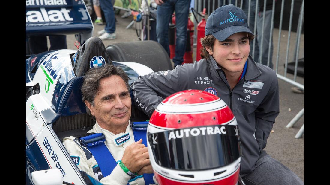 Nelson Piquet - Brabham BT52 - Legends Parade - GP Österreich 2015