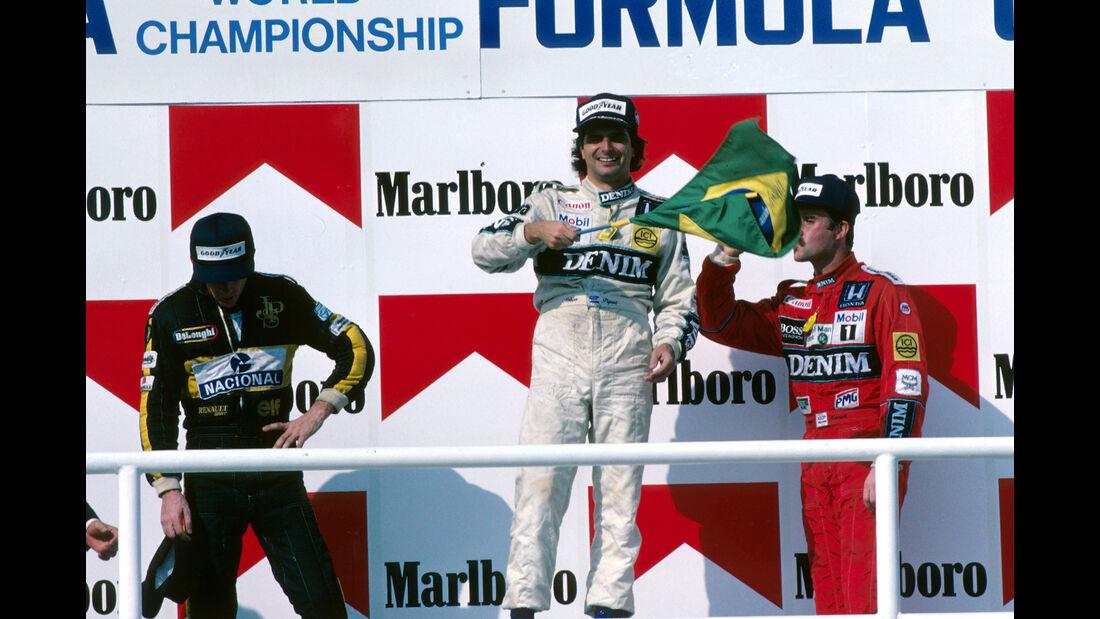 Nelson Piquet - Formel 1 - GP Ungarn 1986