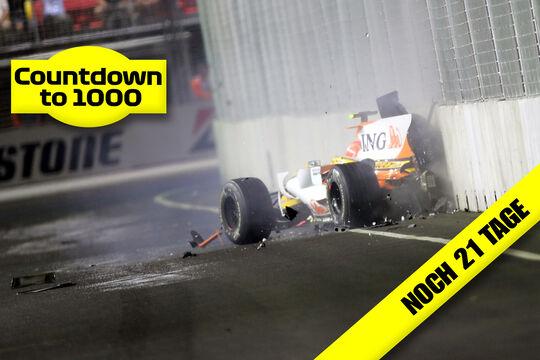 Nelson Piquet - GP Singapur 2008