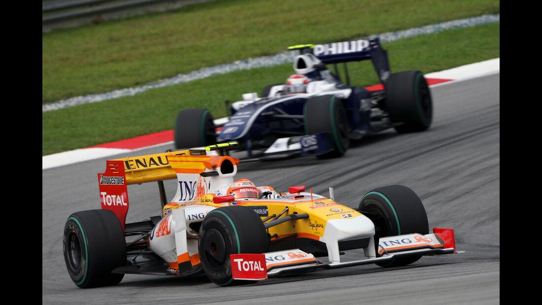 Nelson Piquet Jr. & Kazuki Nakajima - Formel 1 - 2009