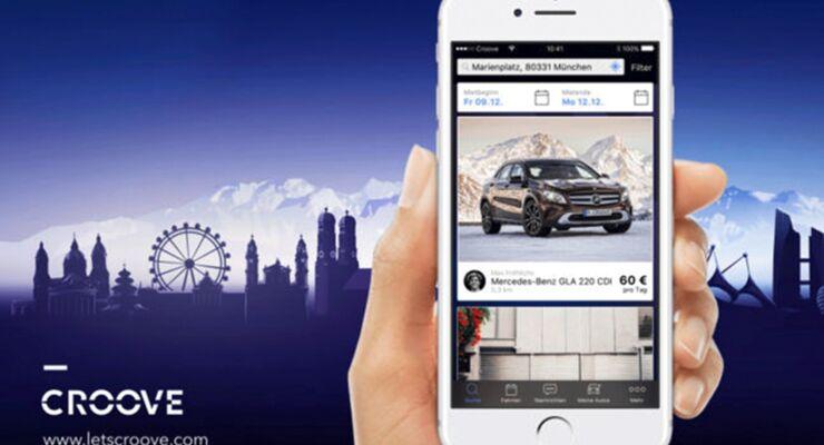 Neue Carsharing App von Mercedes