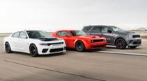 Neue Hellcat-Modelle von Dodge