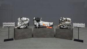 Neue Mazda-Motoren Reihensechszylinder