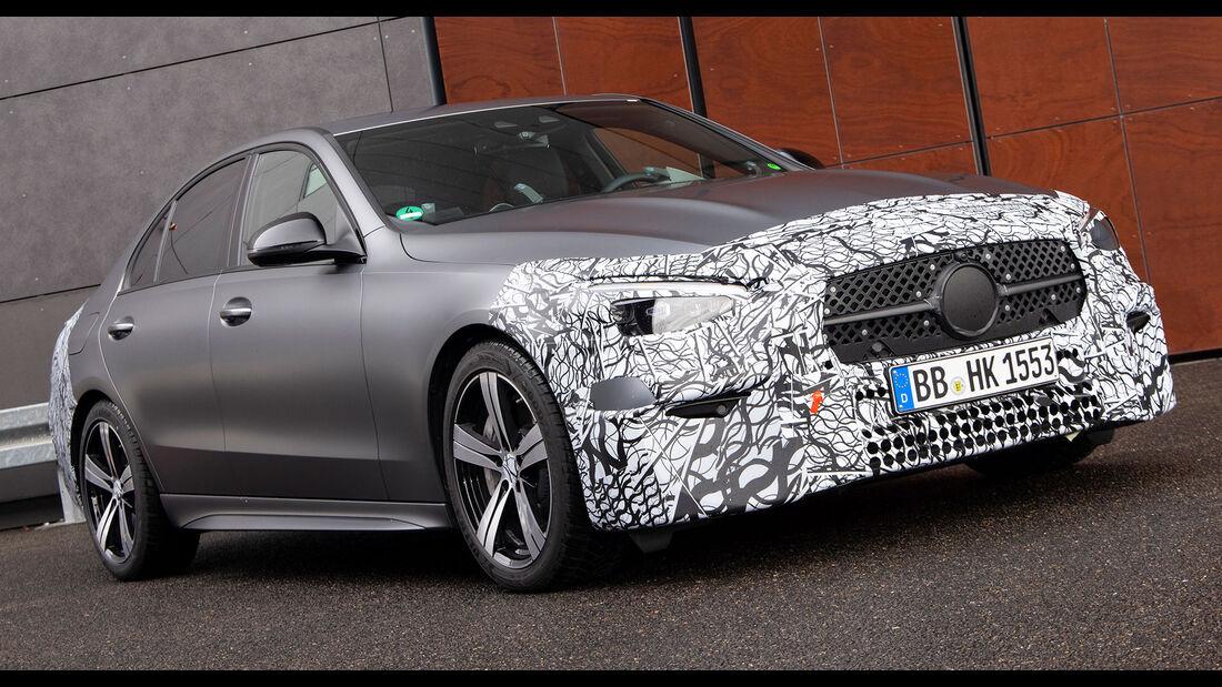 Neue Mercedes C-Klasse W206 (2021) Limousine
