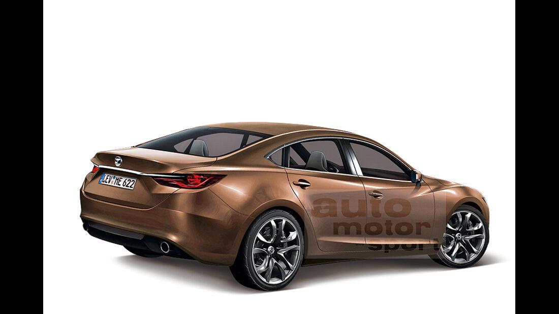 Neuer Mazda 6, 2012