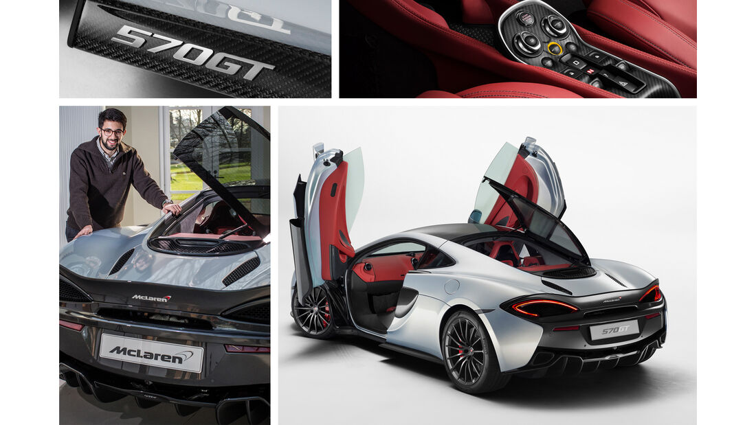 Neuer McLaren 570GT, Genfer Autsalon 2016, 02/2016