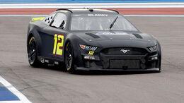 Neuer NASCAR-Ford-Mustang testet in Darlington.