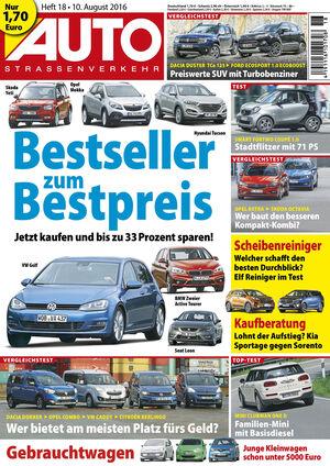 Neues AutoStraßenverkehr, Ausgabe 18/2016, Vorschau, Preview