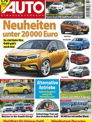Neues AutoStraßenverkehr, Ausgabe 19/2016, Vorschau, Preview