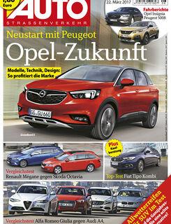 Neues Heft AUTOStrassenverkehr, Ausgabe 08/2017, Vorschau