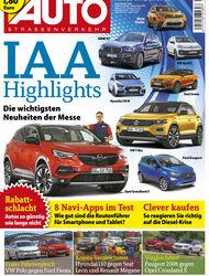 Neues Heft AUTOStrassenverkehr, Ausgabe 20/2017, Vorschau
