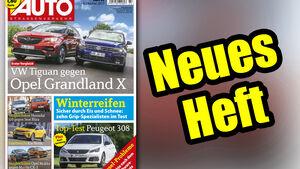 Neues Heft AUTOStrassenverkehr, Ausgabe 22/2017, Heftvorschau