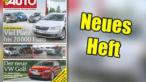 Neues Heft AUTOStrassenverkehr, Ausgabe 23/2016, Vorschau