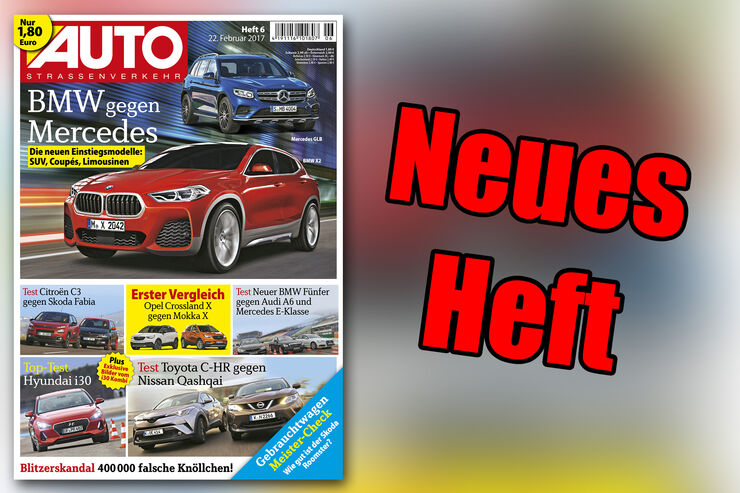 Neues Heft AUTOStrassenverkehr, Ausgabe 6/2017, Vorschau
