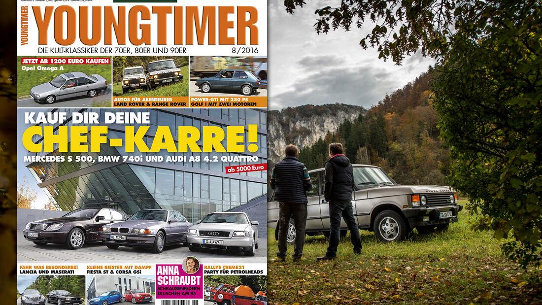Neues Heft, Youngtimer, Ausgabe 08/2016, Vorschau, Preview