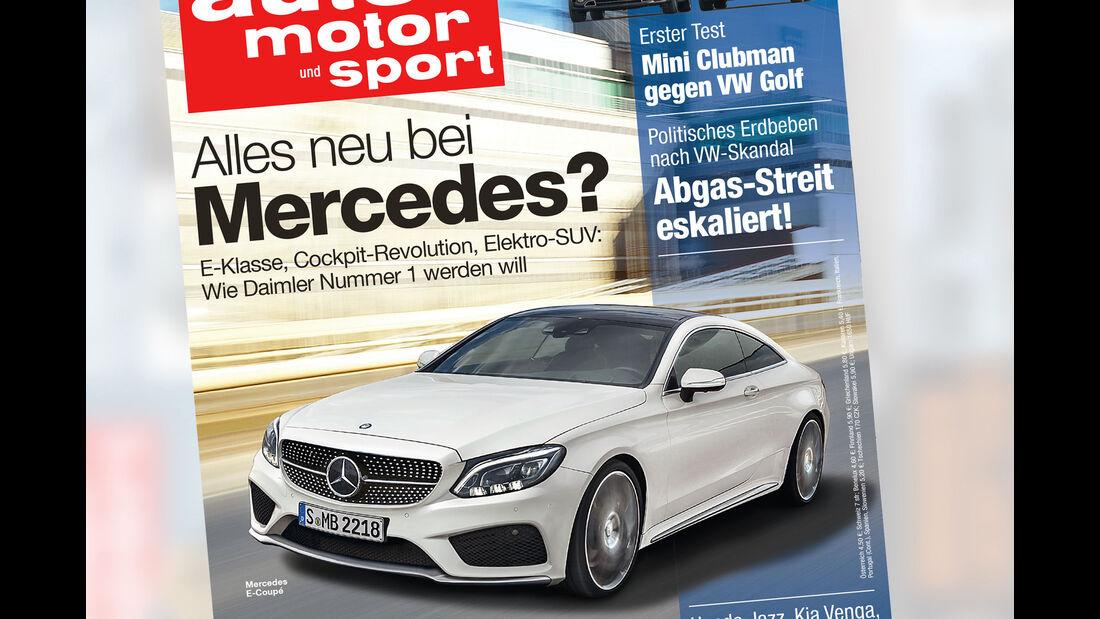 Neues Heft, auto motor und sport 23/2015, Heftvorschau, Preview