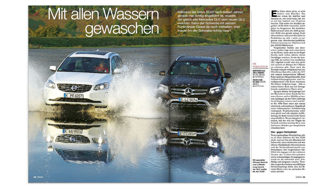 Neues Heft auto motor und sport, Ausgabe 02/2016, Vorschau, Preview