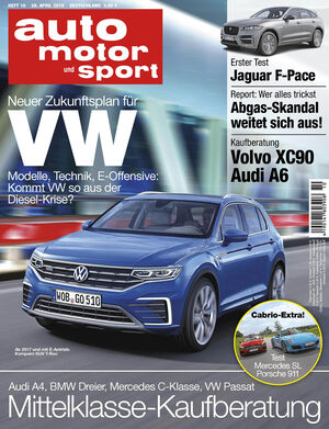 Neues Heft auto motor und sport, Ausgabe 10/2016, Vorschau