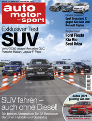 Neues Heft auto motor und sport, Ausgabe 18/2017, Heftvorschau