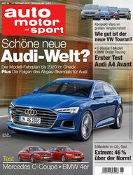 Neues Heft, auto motor und sport, Ausgabe 26/2015, Vorschau, Preview