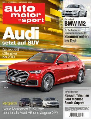 Neues Heft auto motor und sport, Ausgabe 7/2016, Vorschau, Preview