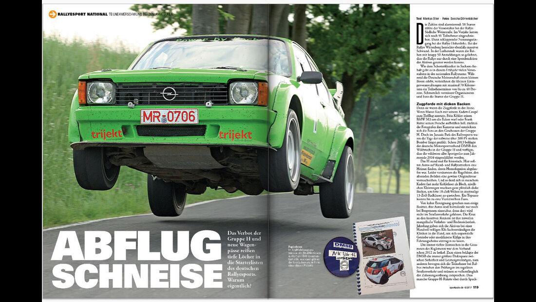 Neues Heft, sport auto, Ausgabe 6/2017, Vorschau, Preview