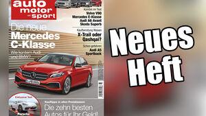 Neues Heft von auto motor und sport, Ausgabe 23/2016, Vorschau, Preview