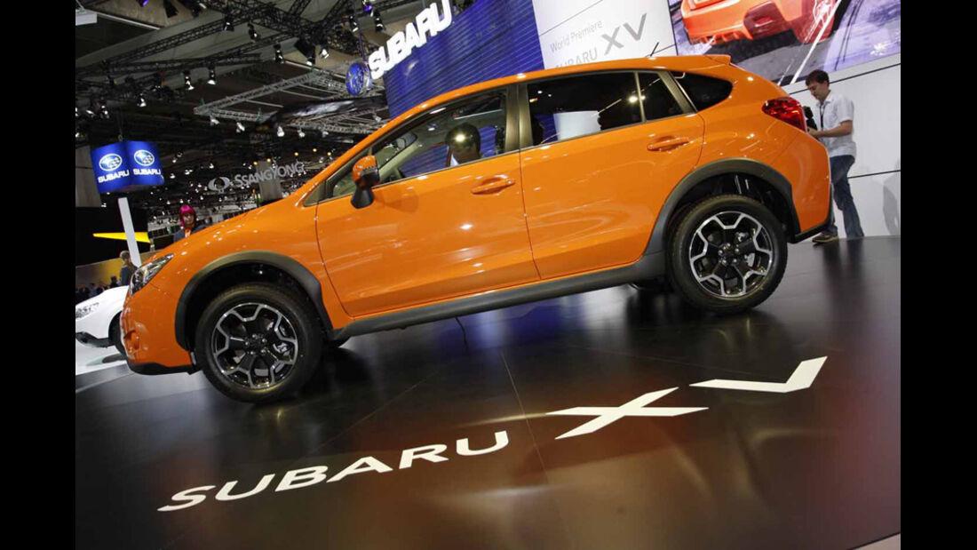 Neuheiten auf der IAA 2011, Subaru XV