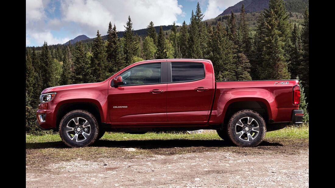 Neuvorstellung Chevrolet Colorado 2014