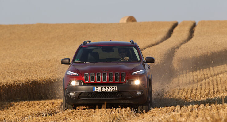 New Holland Agriculture, Jeep Cherokee, Fahrbericht, Jeep Cherokee Trailhawk