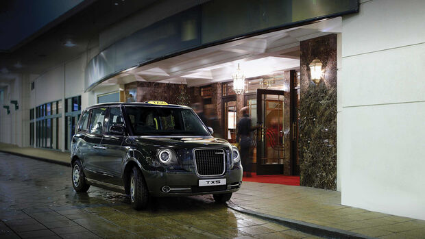 New London Taxi TX5 Elektroantrieb