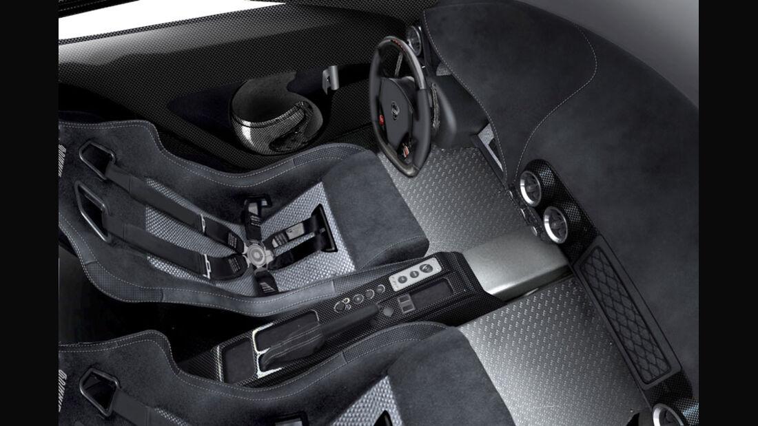 New Stratos, Cockpit, Innenraum