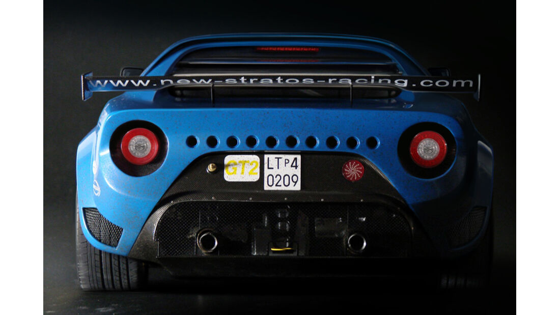 New Stratos, GT2-Rennversion, Modellauto