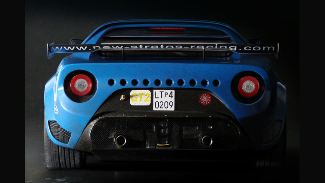 New Stratos, GT2-Rennversion, Modellauto