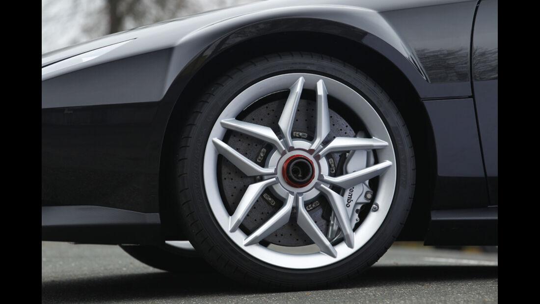 New Stratos, Rad, Reifen, Felge, Bremschscheibe, Detail
