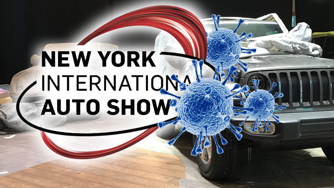 New York Auto Show 2020 Absage Corona