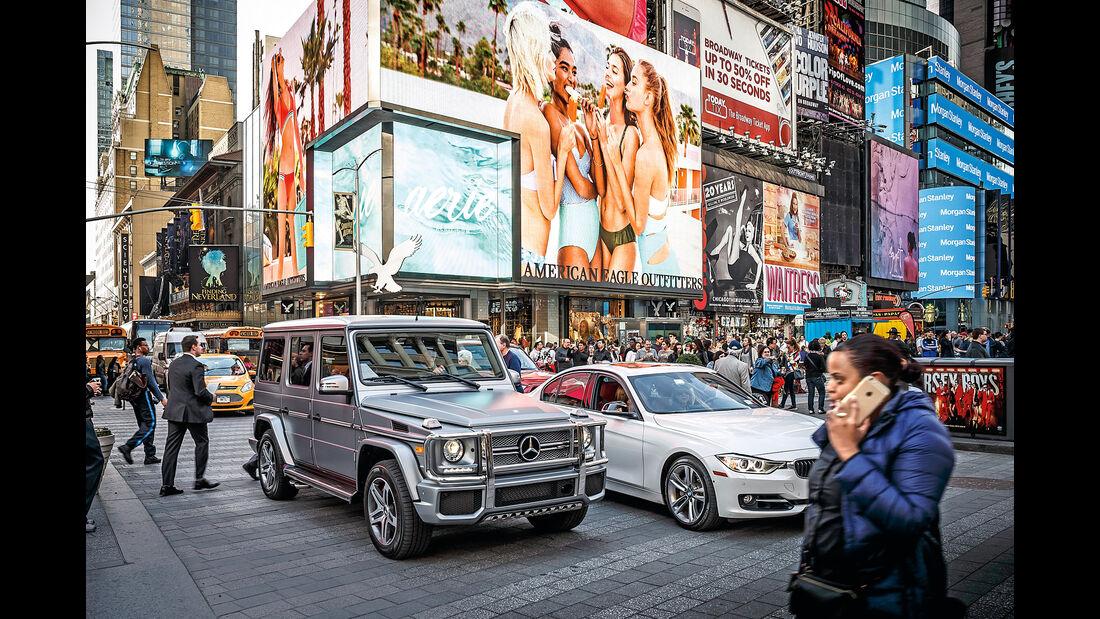 New York, Mercedes-AMG G 65, Impression
