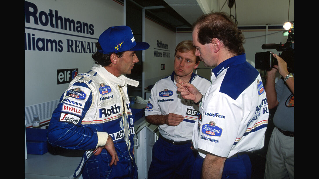 Newey Senna 1994 Williams
