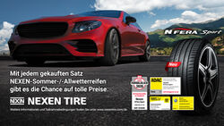 Nexen Tire Sommerpromotion 2020