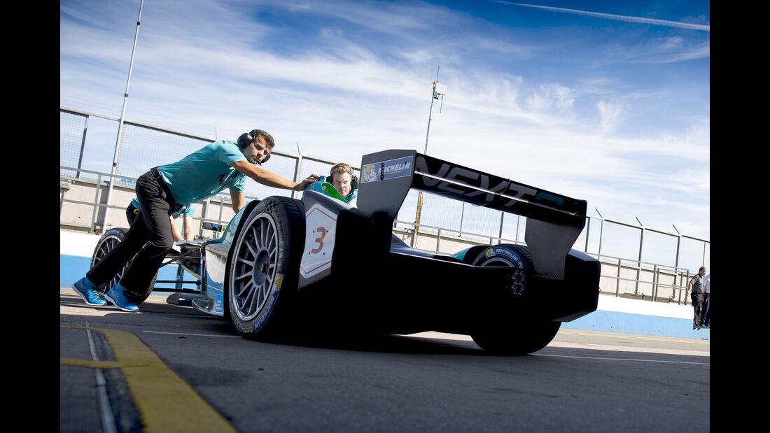 Nextev - Formel E Test - Donington - 2016