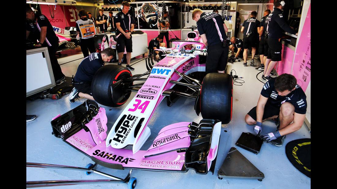 Nicholas Latifi - Force India - Formel 1 - GP Kanada - Montreal - 8. Juni 2018