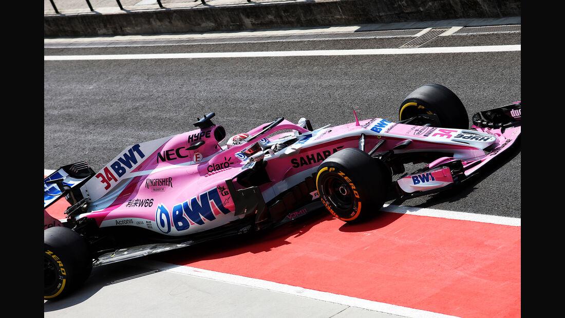 Nicholas Latifi - Force India - GP Ungarn - Budapest - F1-Test - 31. Juli 2018