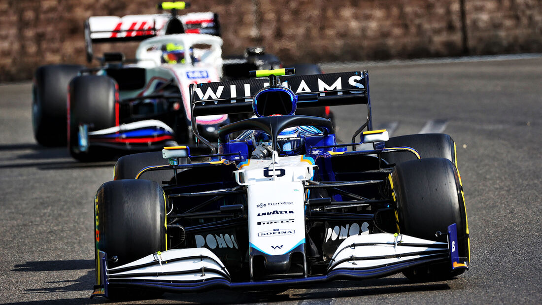 Nicholas Latifi - Formel 1 - GP Aserbaidschan 2021