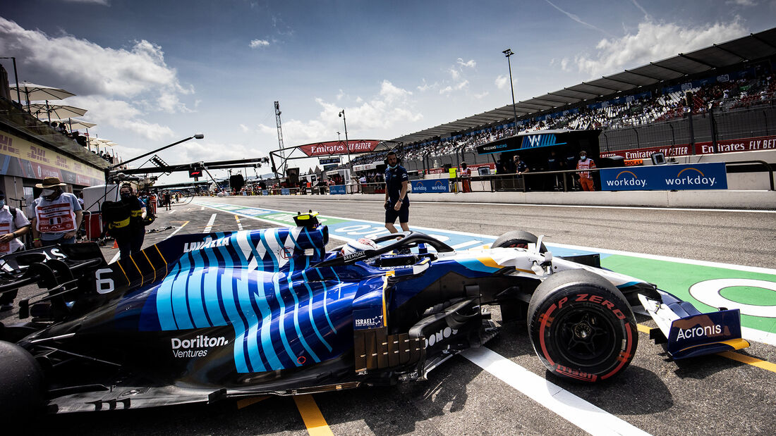 Nicholas Latifi - Formel 1 - GP Frankreich 2021