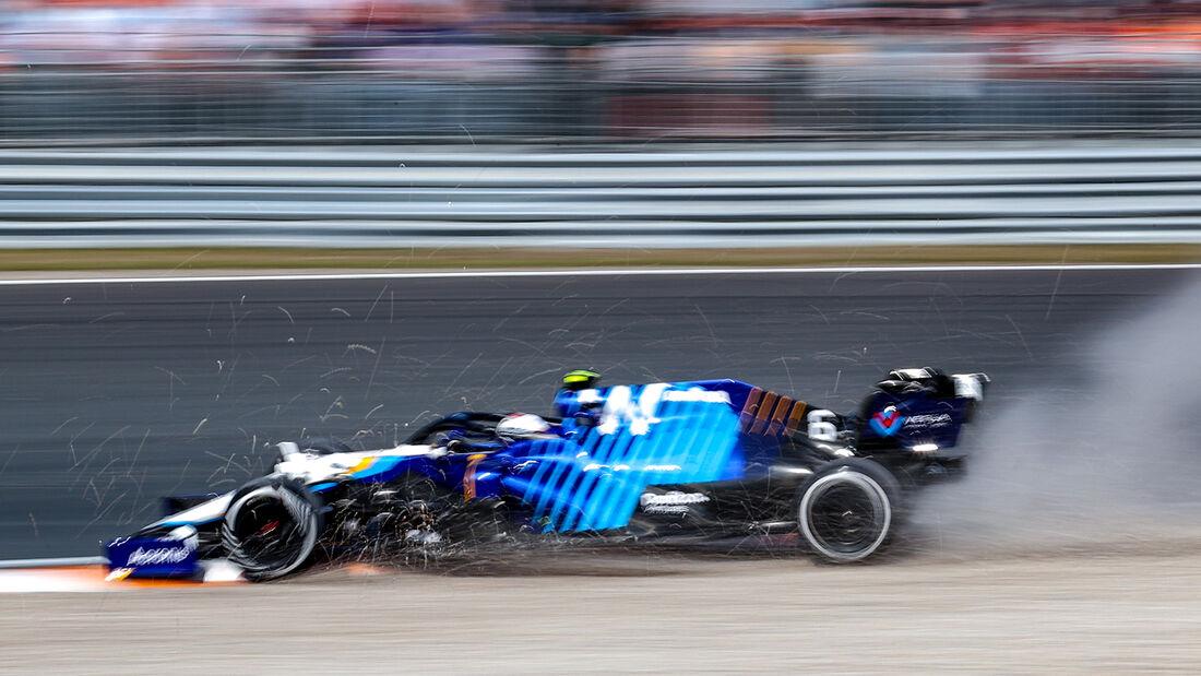 Nicholas Latifi - Formel 1 - GP Niederlande - Zandvoort - 2021